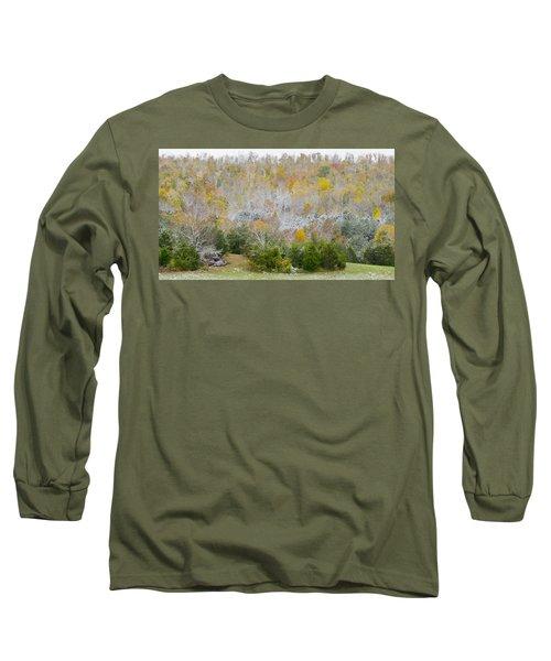 Early Snow Fall Long Sleeve T-Shirt