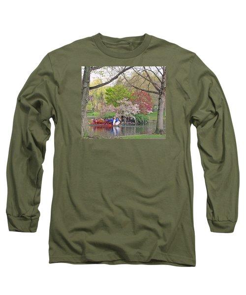 Early Spring Boston Long Sleeve T-Shirt by Barbara McDevitt