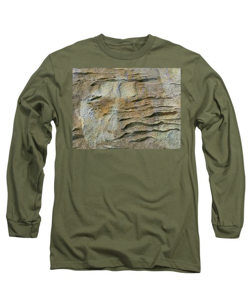 Long Sleeve T-Shirt featuring the photograph Earth Memories-sleeping River # 2 by Ed Hall