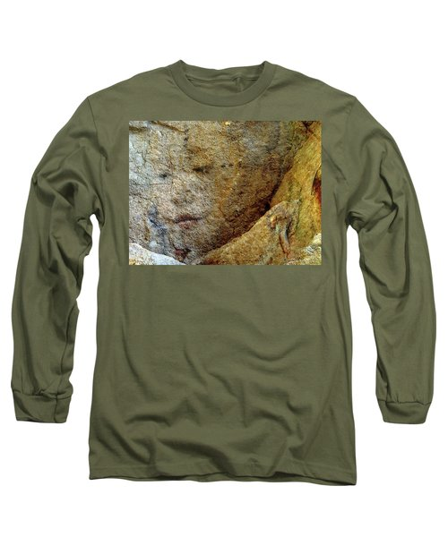 Long Sleeve T-Shirt featuring the photograph Earth Memories - Stone # 5 by Ed Hall