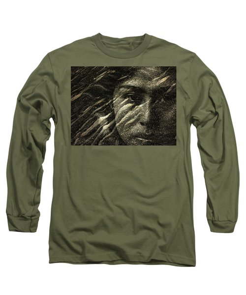 Long Sleeve T-Shirt featuring the photograph Earth Memories - Water Spirit by Ed Hall