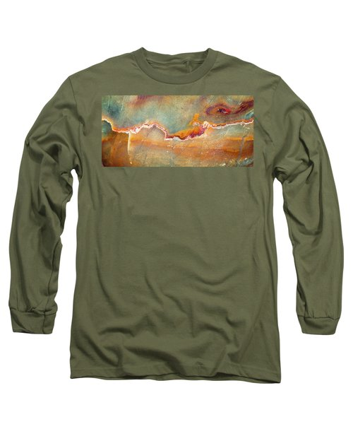 Earth Portrait 001-98 Long Sleeve T-Shirt