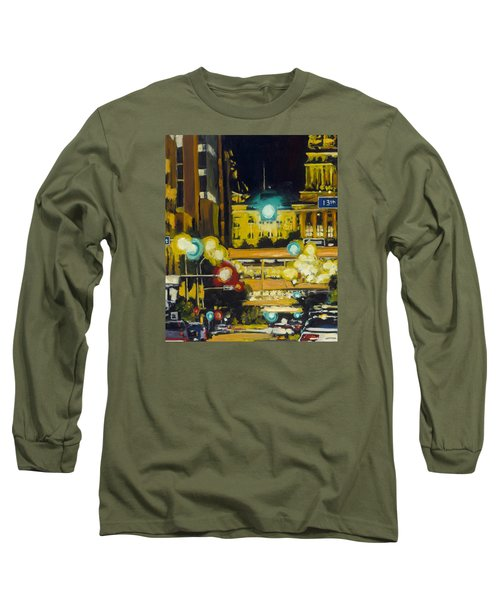 East 13th And Locust St Des Moines Long Sleeve T-Shirt