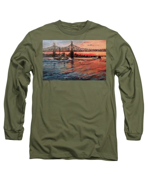 East River Tugboats Long Sleeve T-Shirt