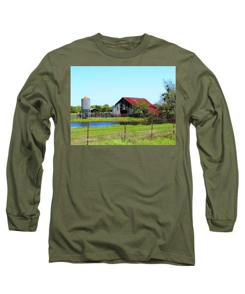 East Texas Barn Long Sleeve T-Shirt
