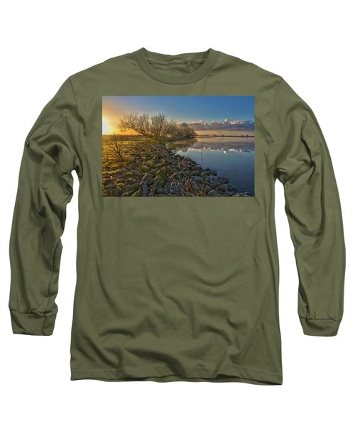 Easter Sunrise Long Sleeve T-Shirt by Frans Blok