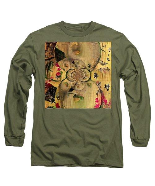Eastern Motif Long Sleeve T-Shirt