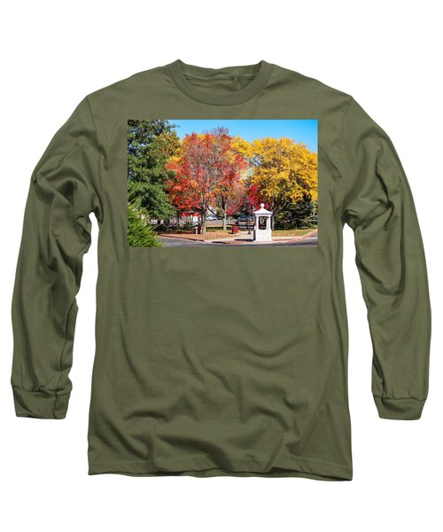 Easthampton Center In The Fall Long Sleeve T-Shirt