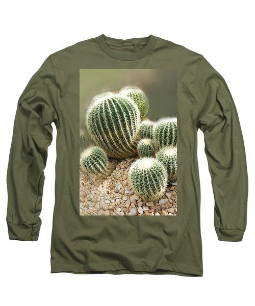 Echinocactus Grusonii  Long Sleeve T-Shirt