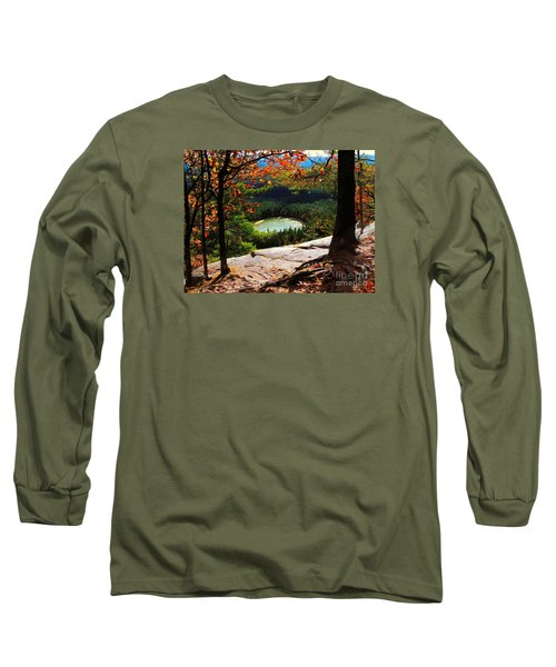 Echo Lake, New Hampshire Long Sleeve T-Shirt