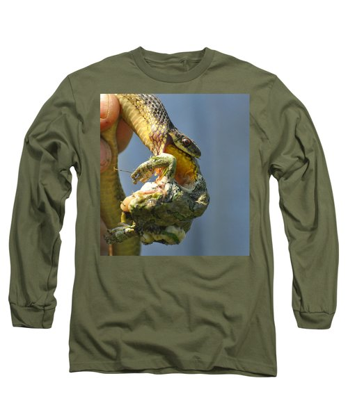 Ecosystem Long Sleeve T-Shirt by Lisa DiFruscio