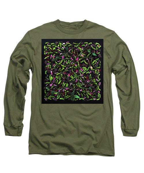 Edamame Patterns Long Sleeve T-Shirt