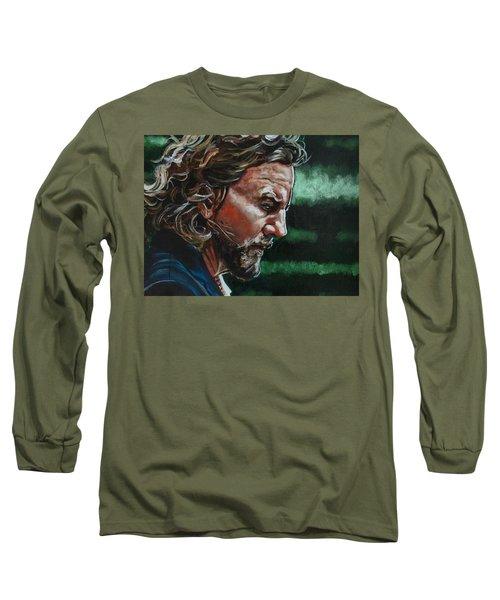 Eddie Vedder Long Sleeve T-Shirt by Joel Tesch