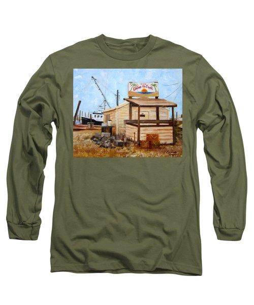 Eddies On The Creek Belford Nj Long Sleeve T-Shirt