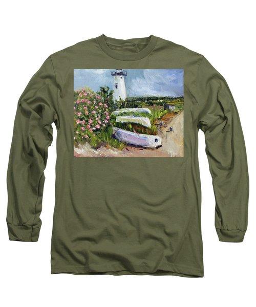 Edgartown Light And Her Entourage Long Sleeve T-Shirt