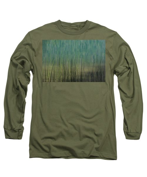 Edge Of The Lake - 365-262 Long Sleeve T-Shirt by Inge Riis McDonald