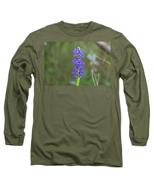 Edible Pickerel Weed Long Sleeve T-Shirt