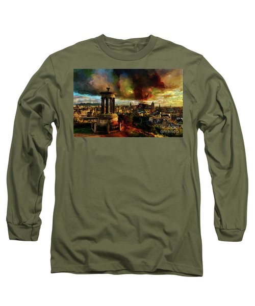 Edinburgh Scotland 01 Long Sleeve T-Shirt