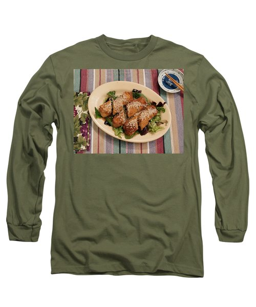 Egg Rolls And Sesame Long Sleeve T-Shirt