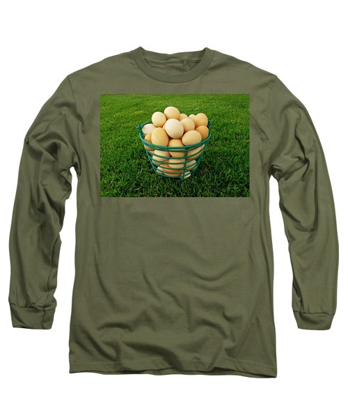 Eggs In A Basket Long Sleeve T-Shirt