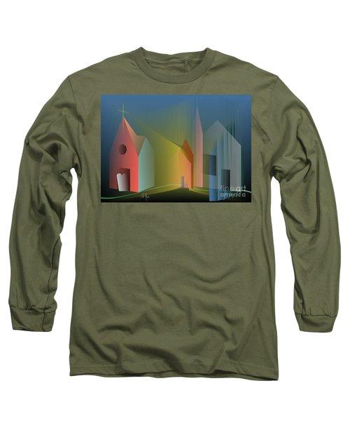 Ego Sum Via Veritas Et Vita Long Sleeve T-Shirt