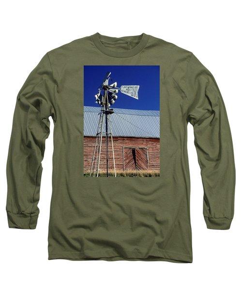 Eid Road Windmill Long Sleeve T-Shirt