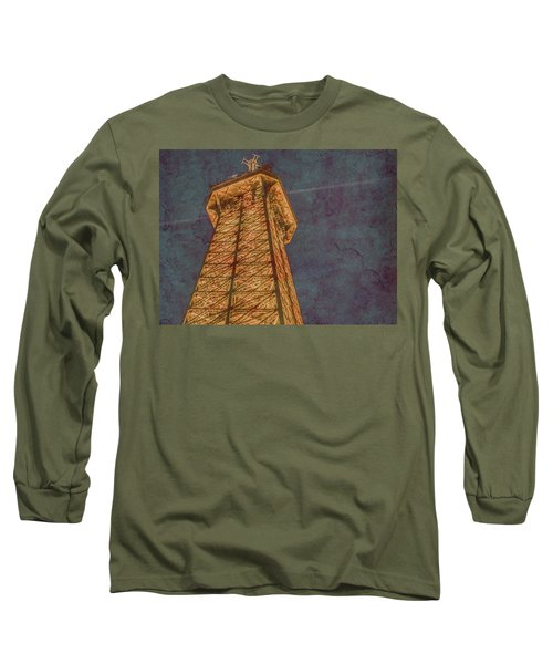 Paris, France - Eiffel Peak Long Sleeve T-Shirt