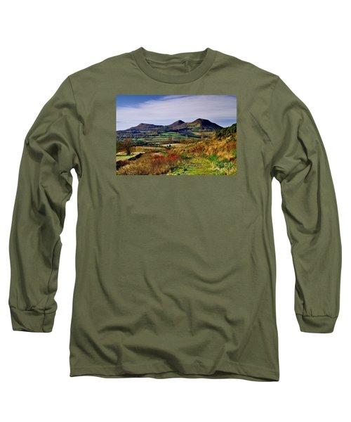 Eildon Hills Borders Scotland Long Sleeve T-Shirt