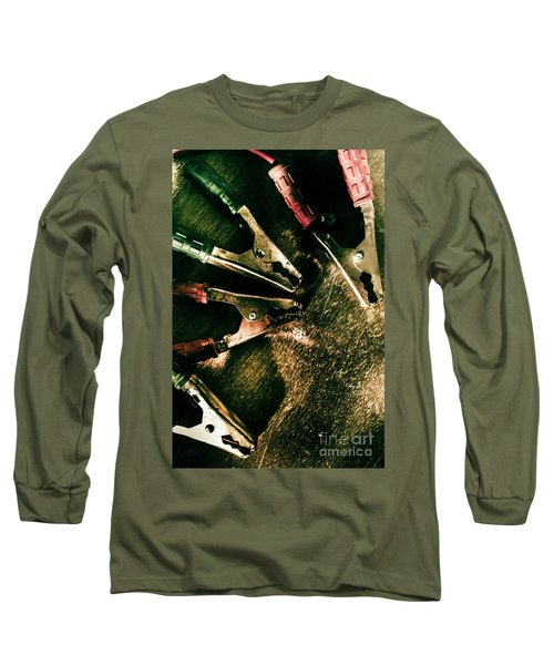 Electrical Workshop Leads Long Sleeve T-Shirt