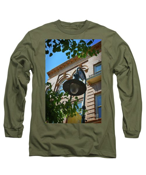 Long Sleeve T-Shirt featuring the photograph Electrifying  Architecture by Skip Willits
