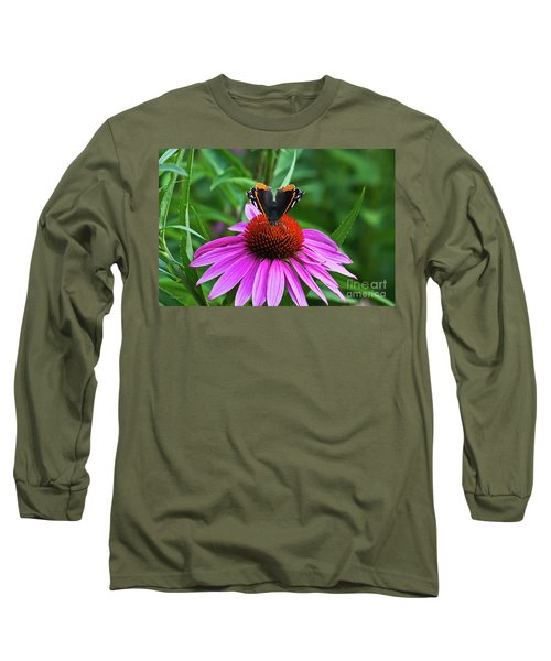 Elegant Butterfly Long Sleeve T-Shirt