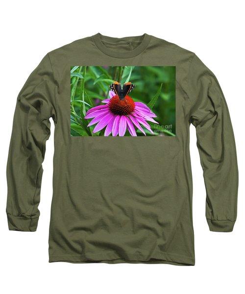 Elegant Butterfly Long Sleeve T-Shirt