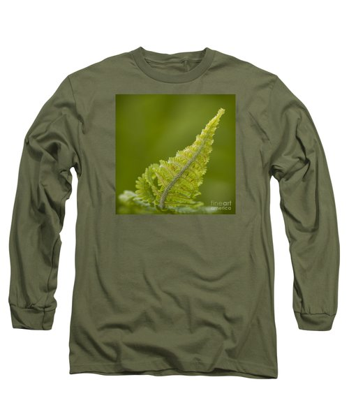 Elegant Fern. Long Sleeve T-Shirt by Clare Bambers