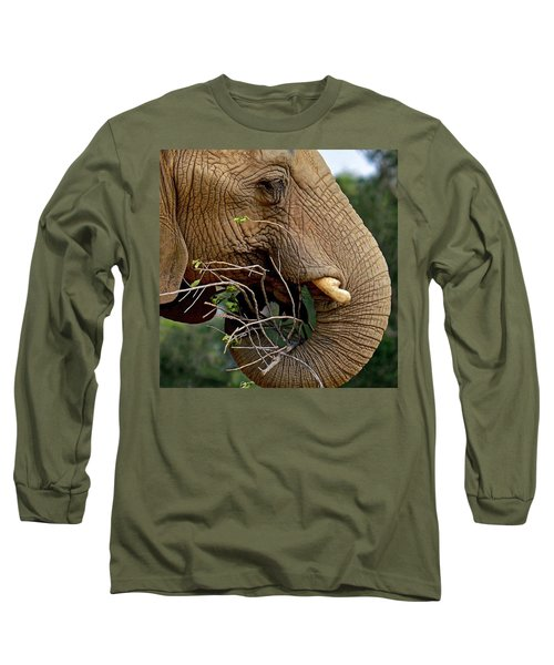 Elephant Curl Long Sleeve T-Shirt