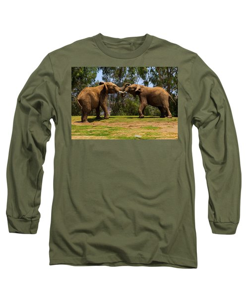 Elephant Play 3 Long Sleeve T-Shirt