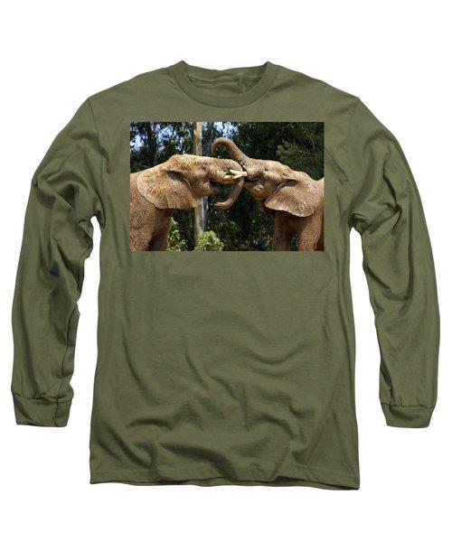 Elephant Play Long Sleeve T-Shirt