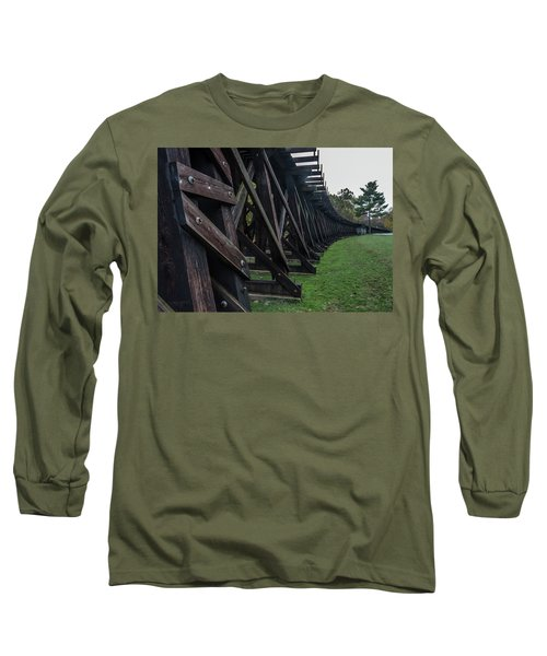 Harpers Ferry Elevated Railroad Long Sleeve T-Shirt
