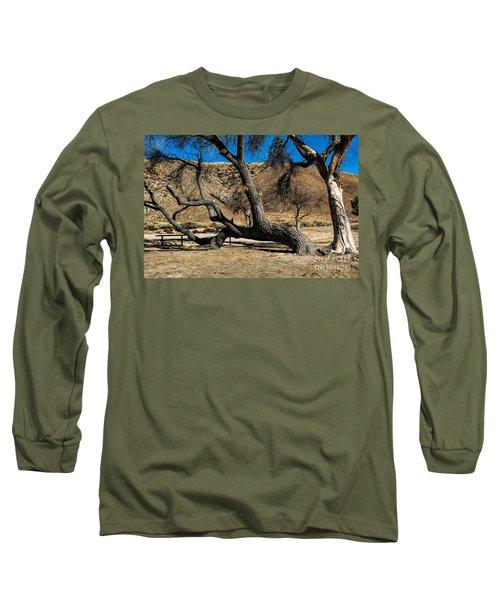 Elizabeth Lake Tree Long Sleeve T-Shirt