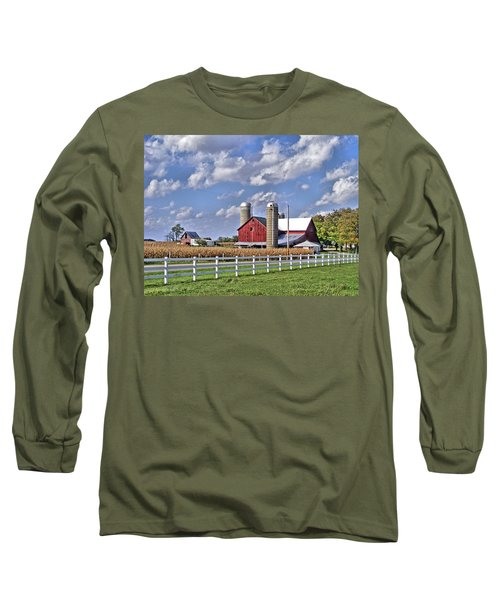 Elkhart County Farm Long Sleeve T-Shirt