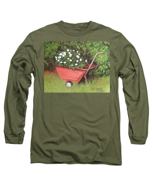 Eloise's Garden Cart Long Sleeve T-Shirt