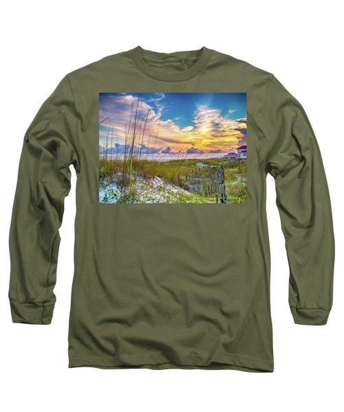 Emerald Coast Sunset Long Sleeve T-Shirt