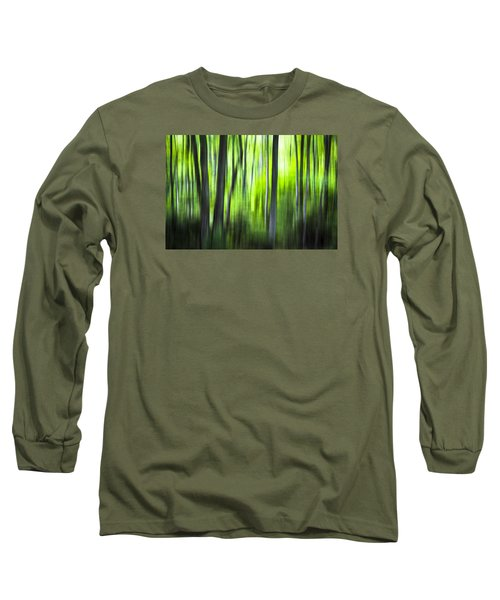 Green Forest - North Carolina Long Sleeve T-Shirt