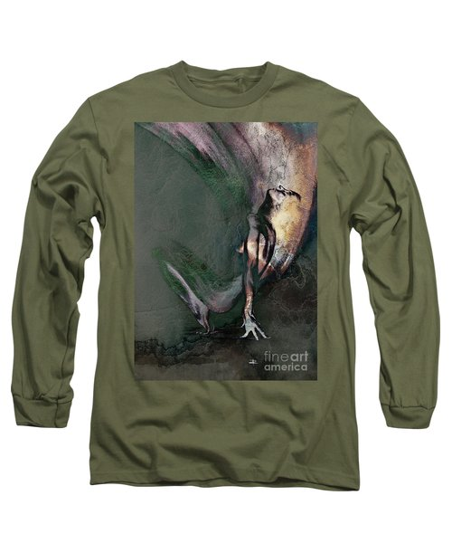 emergent II - textured Long Sleeve T-Shirt
