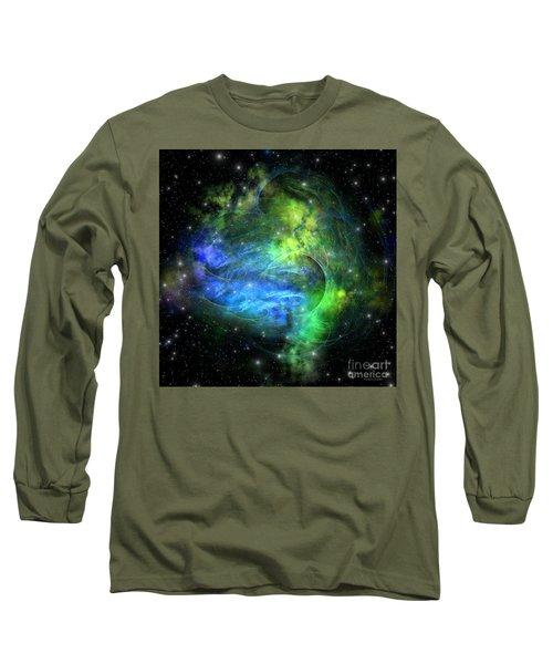 Emission Nebula Long Sleeve T-Shirt