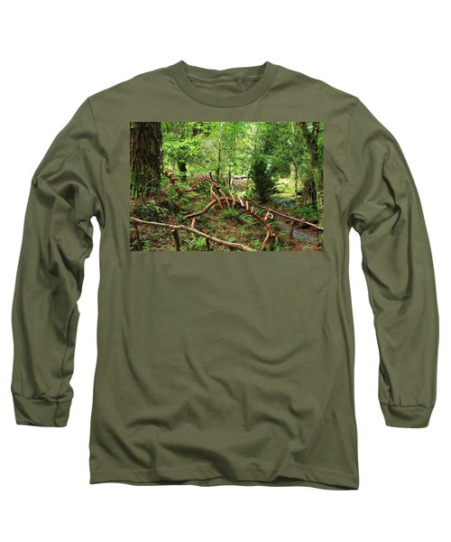 Long Sleeve T-Shirt featuring the photograph Enchanted Forest by Aidan Moran
