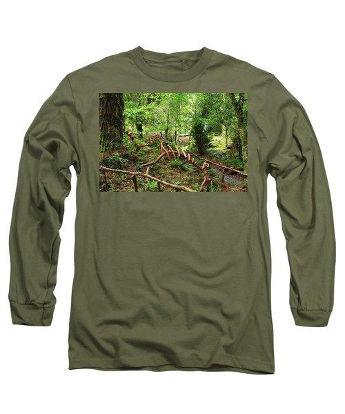 Enchanted Forest Long Sleeve T-Shirt by Aidan Moran