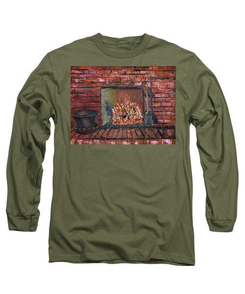 Enchanting Fire Long Sleeve T-Shirt