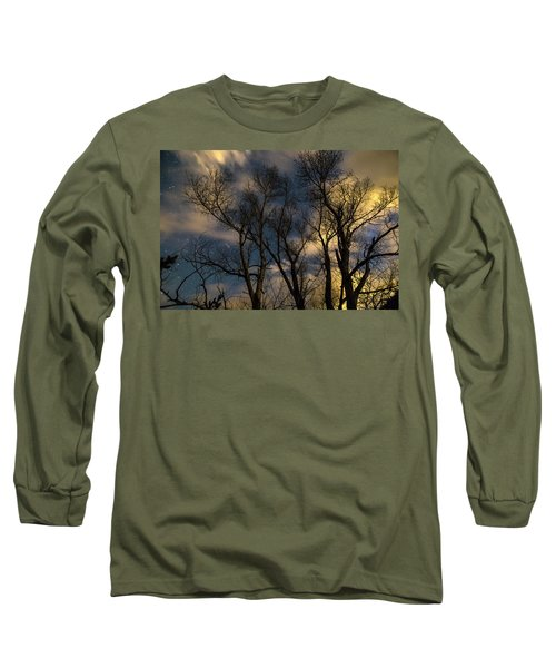 Long Sleeve T-Shirt featuring the photograph Enchanting Night by James BO Insogna