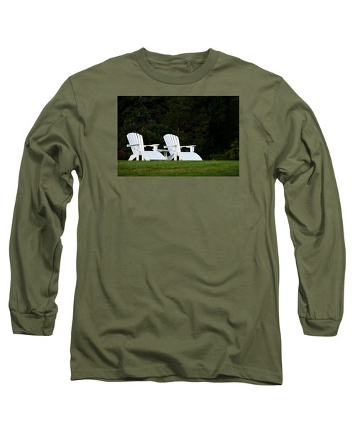 Long Sleeve T-Shirt featuring the photograph End Of Season I by Richard Ortolano