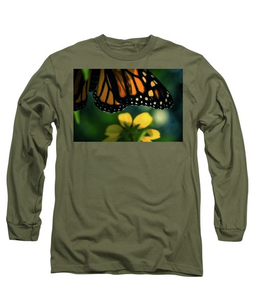 End Of Summer Monarch Long Sleeve T-Shirt